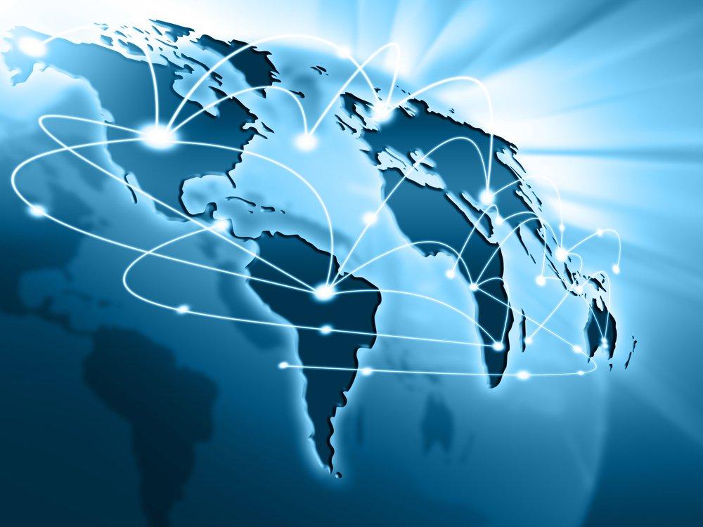 Internet collegamento mondiale