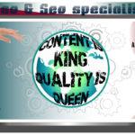 Seo & Seo specialist