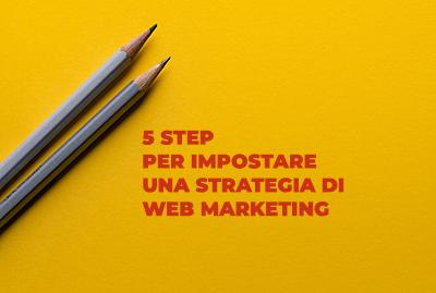 5 step per impostare una strategia di web marketing