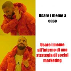 meme sui social aziendali