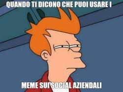 I meme anche sui social aziendali?